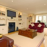 Fitted furniture to lounge