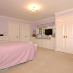 Fitted furniture to bedroom